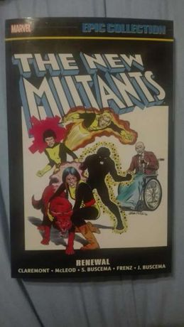 The New mutants epic collection komiks
