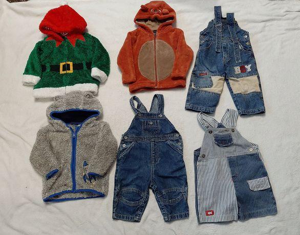 Paka ubrań dla chłopca 36szt, 74-80