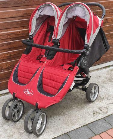Wózek bliźniaczy baby jogger double