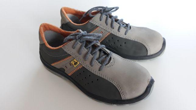 Damskie półbuty ochronne bhp obuwie ESD buty robocze