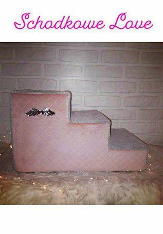 Schody schodki dla psa kota Glamour