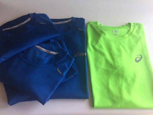 T-shirts corrida Asics - homem -usadas - tamanhos S/M