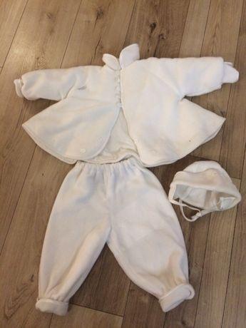 Komplet, ubranko do chrztu dla dziewczynki