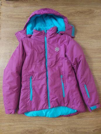 Зимняя термокуртка Y.F.K. на девочку