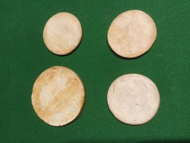 bolachas moedas de António Alves Cunha Caldas da Rainha Raras