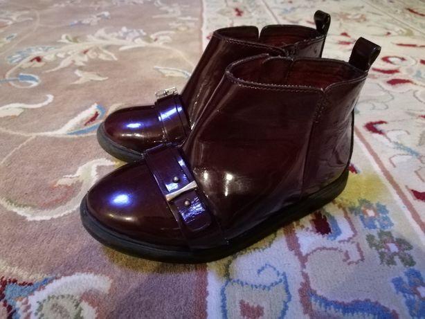Ботинки ZARA, фирменные ботинки для девочки