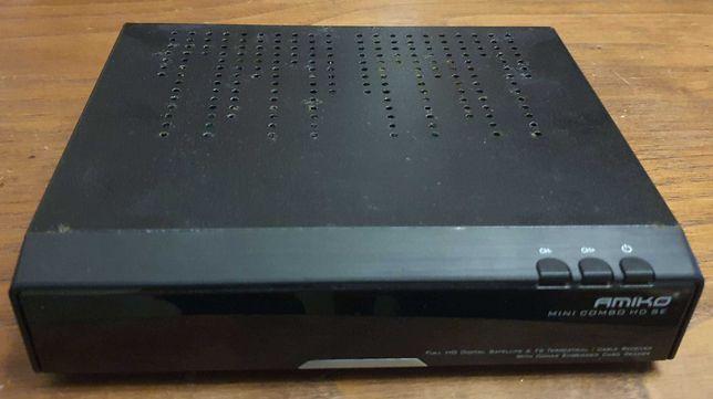 Box Recetor Satélite Amiko Mini Combo HD SE - Porto