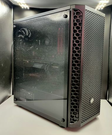 Pc Komputer do gier. B450-A Pro Max/AMD Ryzen/GTX 1660/SSD-1TB/Ram16gb