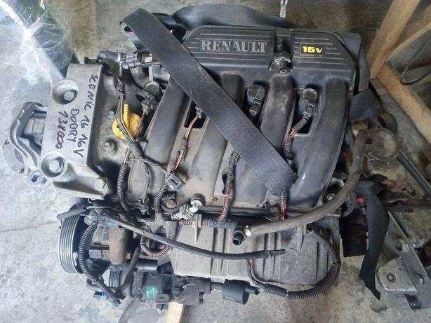 Двигатель Мотор Renault 1.6 16V K4M Scenic Logan Dacia