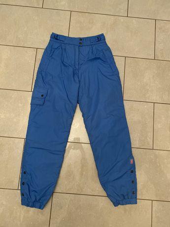 spodnie zimowe na narty, sanki, niebieskie, damskie r. S/M