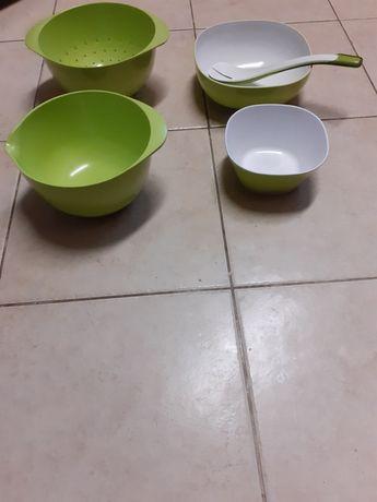 Zestaw akcesorów kuchennych z melaminy melamina miska misa pucharki
