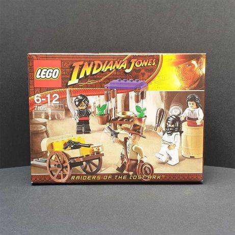 Nowy, nigdy nie otwierany, zestaw klocków Lego Indiana Jones: 7195
