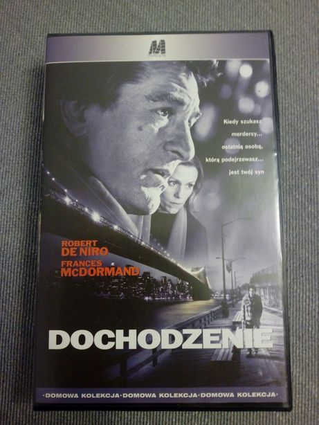 """""""Dochodzenie"""" Film na VHS"""