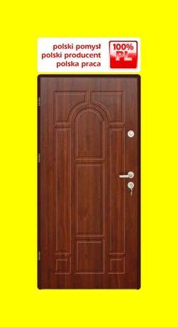 WEWNĄTRZKLATKOWE drzwi wejściowe do BLOKÓW z Montażem- zewnętrzne