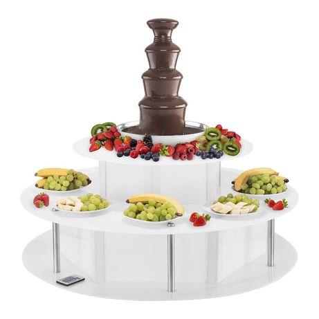 Fonte de chocolate - 5 andares - 4 kg - Excelente para o seu negocio