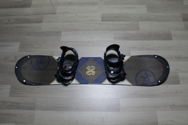 Deska Snowboard ROSSIGNOL EXP 120 cm + Wiązania RO
