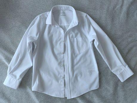 Белая рубашка Next в идеальном состоянии, р.7 лет., замеры