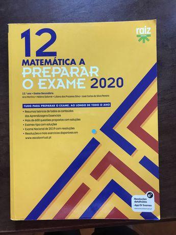 Livros preparação para o exame de matemática