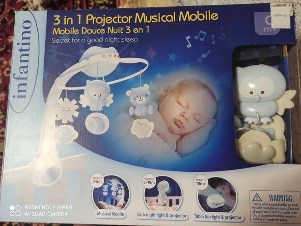 Музыкальный мобиль 3в1 infantino