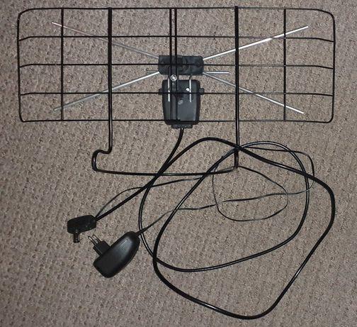 antena pokojowa DVB-T cyfrowa TV naziemna