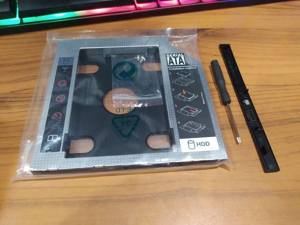 Карман для ноутбука вместо привода 9,5мм hdd caddy optibay