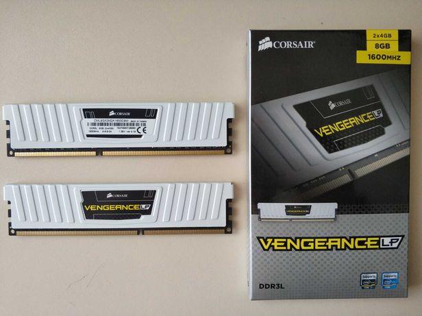 Оперативная Память(озу) Corsair 8GB (2x4GB) DDR3 1600 MHz CL9