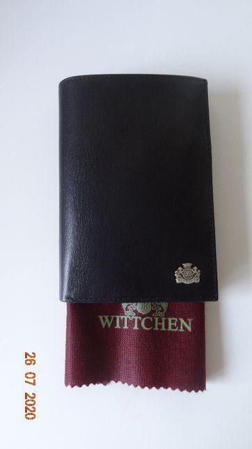 duży portfel męski Wittchen Arizona czarny