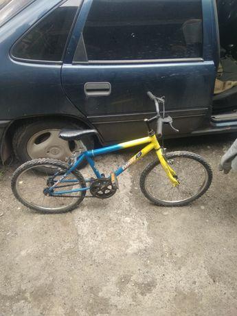 велосипед на 20 колесах
