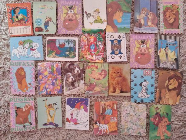 Karteczki do zbierania segregowania stare kolekcja