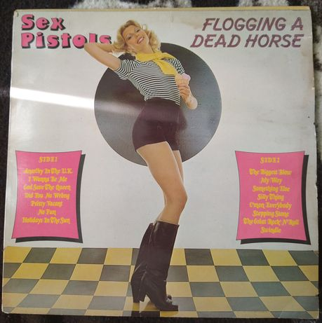 Sex Pistols Flogging a dead horse lp
