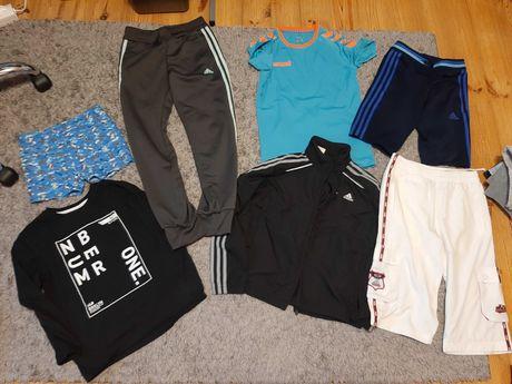 Zestaw ubrań 134/140 dla chłopca 15 szt