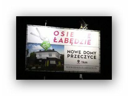 Zestaw Fotowoltaiczny PV Oświetlenie LED Drogowskaz Pensjonat GOTOWY