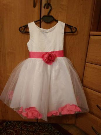 PROMOCJA Sukienka dla dziewczynki iefiel 4 latka