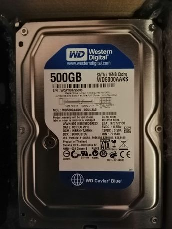 Срочно!!! Жёсткий диск WD 500 GB