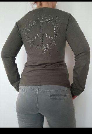 Sweterek z cyrkoniowym tyłem