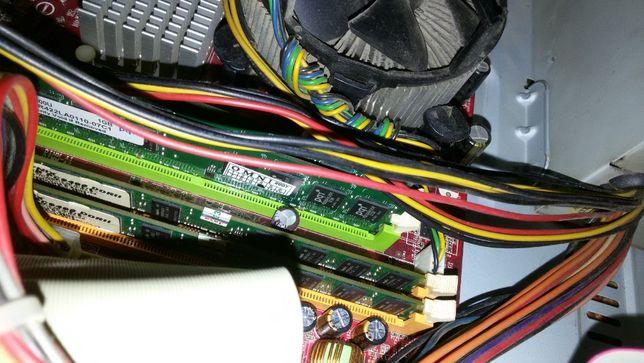 Оперативная память DDR2 1Gb*4 шт.(Две пары-хорошие-проверены годами)