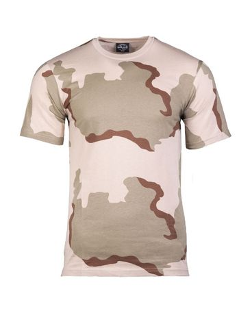 Koszulka wojskowa 3 color desert
