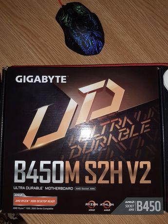 Продам новую метеринскую плату GIGABYTE B450M S2H V2