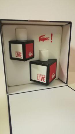 Gift set Lacoste LIVE - 100ml + 40ml (HOMEM)