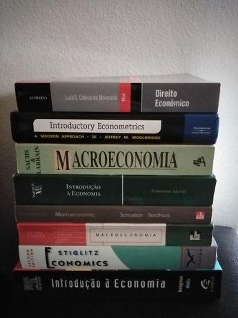 Economia lote de livros