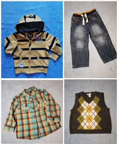 3 zł/szt Mega paka  1.5-3 lata dla chłopaka, paczka ubrań dla chłopca