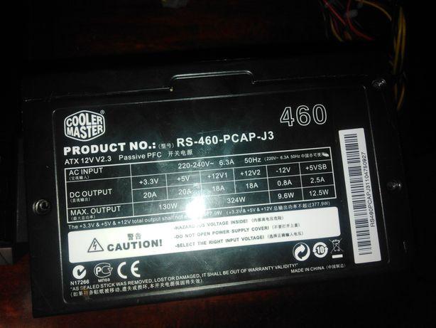 (не рабочий) блок питания CoolerMaster на 460w