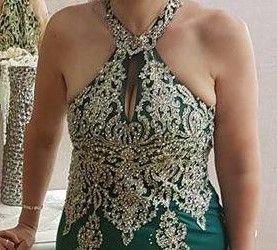 vestido lindissimo usado so uma vez e a um preço incrivel