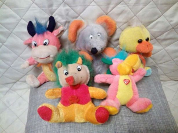 Продам мягкие игрушки в отличном состоянии