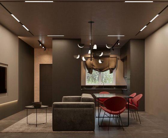 Дизайнер интерьера 200-450грн/м2. Дизайн интерьера. Киев, Ирпень, Буча