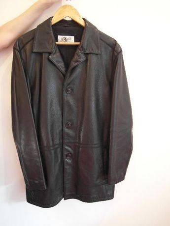 Куртка кожаная Vittorio демисезон