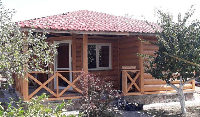 дерев'янний будинок , деревянний дом