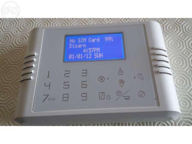 Alarme habitação gsm pro280 loja escritorio sem fios wireless ou com f