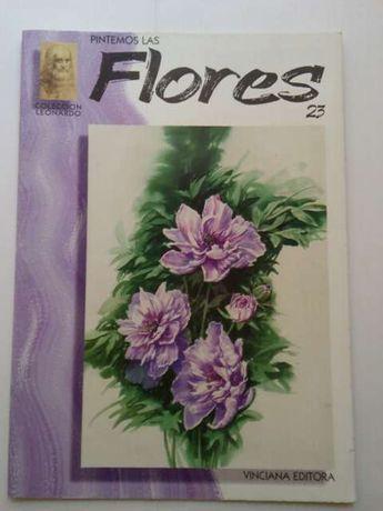 """Pintemos las Flores """"Las flores y el boligrafo"""""""
