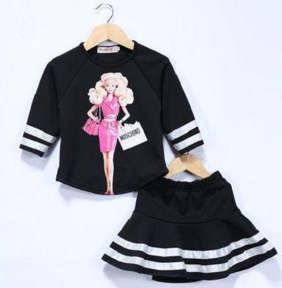 Костюм юбка и кофта с Барби Barbie